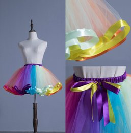 Jupons Crinoline Bon Marché Pas Cher-Le plus récent en stock Cheap Mini Underskirt Little Girls A Line Petticoats Slip Ball Gowns Crinoline For Flower Girls Dresses