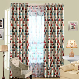 discount curtain valances designs new design modern triangle pattern window curtain draperies screen sheer valance blackout