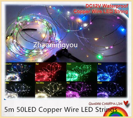 $enCountryForm.capitalKeyWord Canada - YON 5m 50LED Copper Wire LED Strings,Waterproof DC12V,Starry Lights,For Holiday,Party,Wedding Decoration