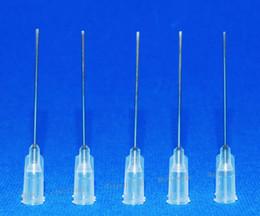 Hot Melt Fiber NZ - 19GA 1-inch tubing length,Precision Blunt S.S. dispensing Tips 100pcs pack