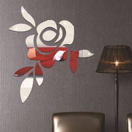 Environmental Childrenu0027s Room Decorative Wallpaper Paste Wallpaper 3D  Stereoscopic Crystal Roses Mirror New 2016 European And American