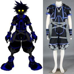 Discount sora cosplay - Kingdom Hearts Sora black outfit cosplay costume halloween