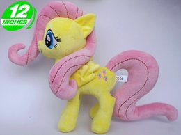Eyes Games NZ - my pet little horse Big Eyes nice new Soft Stuffed Animal Doll Unicorn Horse Plush Toys Fluttershy