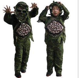 scary halloween costumes boys children kid boy halloween cosplay scary zombie ghost large intestines costume