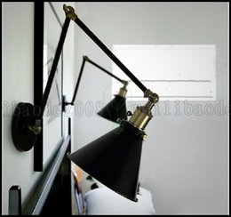 new vintage loft swing arm wall sconce retro ceiling lamp ambient lighting llwa225 - Swing Arm Lamp