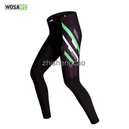 summer tights cycling NZ - WOSAWE Long Cycling Pants Spring Summer Ciclismo cycling Mountain MTB Bike Gel Pad Pant Tights Trousers