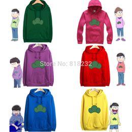 Wholesale-Osomatsu-san Matsuno Itsu Hoody Hoodie Sweater Coat Outwear Cosplay Costume 6 Colors S-XXL on Sale