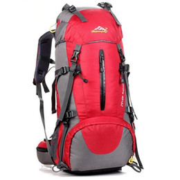 China Wholesale-Brand Outdoor Men Women Trekking Hiking bag Backpack Trip Travel Luggage Bag 55L Camping Cycling Riding Backpack X100 supplier cycle styles suppliers