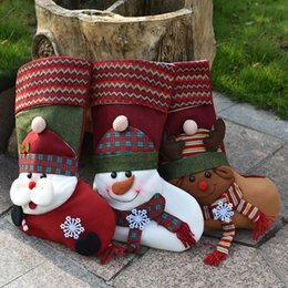 explosion of christmas stocking christmas tree ornaments oversized socks gift gift bags wholesale holiday decorations