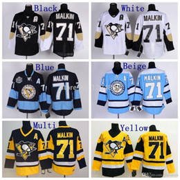 light blue ccm vintage throwback jersey cheap mens pittsburgh penguins hockey jerseys 71 evgeni malk