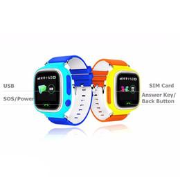 $enCountryForm.capitalKeyWord Canada - GPS Baby Smart Watch Q90 With Wifi Touch Screen SOS Call Location Tracker For Kid Anti Lost Monitor PK Q80 Q60 Q7
