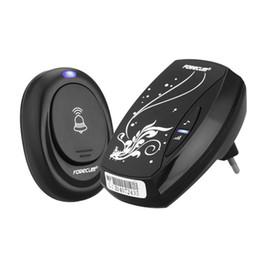 e4d1ede77d2 Forecum 6 1 Remote Control 1 Wireless Digital Doorbell Door Bell EU US Plug  75 Lot Free DHL shipping
