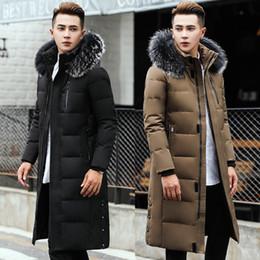 $enCountryForm.capitalKeyWord Canada - Duck Down Parkas Mens Winter Jackets Fur Hoodies Long Down Coat Snow Outwear Overcoat Warm Thickening Big Size 5XL 6XL 2017 HOT