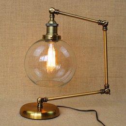 vintage table lamp american bar iron desk light adjustable loft designer style is the folded floor lamp long arm