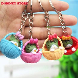 $enCountryForm.capitalKeyWord NZ - Super cute Kitty Cat Doll Key Chain Pussy Key Chain Ring Kitty Kitten Model Chaveiro Keychain