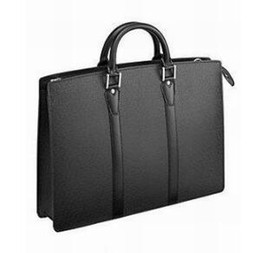 leather computer bags men Australia - Famous Brand Mens Briefcase Designer Mens Business High Quality Real Leather Men Bag Designer Brand MEN document Bag M30052 Genuine Leather