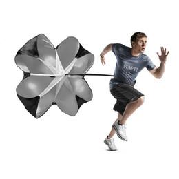 Speed Training Resistance Parachute Running Chute Power mit freiem Tragekomfort für die Tasche Soccer Football Sport Speed Training im Angebot