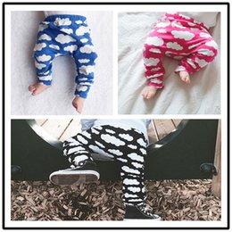baby boy black clothes 2019 - On sale Kids Leggings Pants trousers PP harem Tights Baby legging toddler capris pants Clouds print boy girl clothes bab