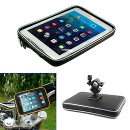 Großhandel Fahrrad motor fahrrad motorrad lenker tablet halter wasserdichte tasche für samsung galaxy tab 4 3 2 7 '' für ipad mini 3 2 1