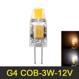 $enCountryForm.capitalKeyWord NZ - Mini G4 COB LED Lamp AC DC 12V 3W LED G4 COB Lamp Dimmable for Crystal Chandelier LED Light Bulb Replace Halogen