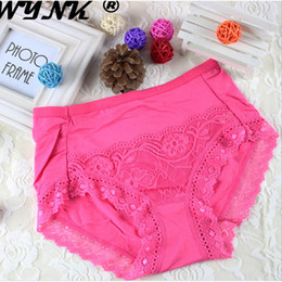 f5dde032c50 2017 Soft Modal Lace Fishnet Underwear For Girls Women Sexy Low Rise Boxer Briefs  Girls Panties Breathable Multicolor