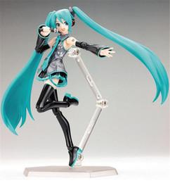 Cantante virtual Hatsune Miku Figuras de acción PVC Doll Anime Toys Dibujos animados americanos Hatsune Miku Doll Toys en venta
