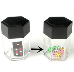 gift prank toy NZ - Trick Toys Big Explode Explosion Dice Close Up Magic Trick Joke Prank Toy Children Kids Gift Christmas YH111
