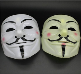 $enCountryForm.capitalKeyWord NZ - new V mask Vendetta white yellow Mask Anonymous Guy Fawkes Fancy Adult Costume Halloween Masks Masquerade V Masks For Halloween