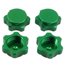 Green truck cars online shopping - RC HSP Green Alum Wheel Hub Mount Nut mm Cover M12 For HSP Car Buggy Truck