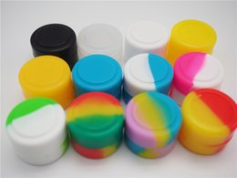 $enCountryForm.capitalKeyWord Canada - Low price Wax Containers silicone box 2ml Silicon container Non-stick food grade wax jars dab storage jar oil holder for vaporizer vape