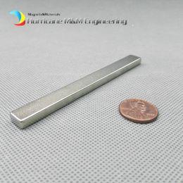 "Neodymium N52 Earthing Magnet NZ - 1 Pack Grade N52 NdFeB Block 100x10x5 mm about 3.94"" Rectangle Bar Strong NdFeB Bar Neodymium Permanent Magnets Rare Earth Magnets"