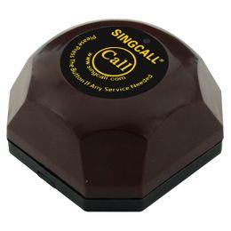 Vente en gros Singcall. bouton d'appel sans fil, système d'appel invité, avec base imperméable amovible, pager étanche.