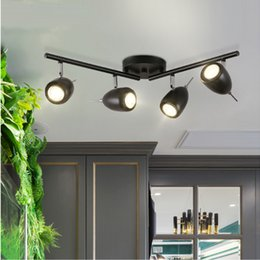 industrial track lighting fixtures. spotlight led track lamp simple clothing store guide creative furniture shop exhibition hall led light fixtures industrial lighting