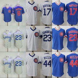 e65c98abd ... White Blue Grey Chicago Cubs Cooperstown Collection Baseball Jersey Mens  Andre Dawson 1987 Ryne Sandberg 1969 1984 Throwback Baseball ...