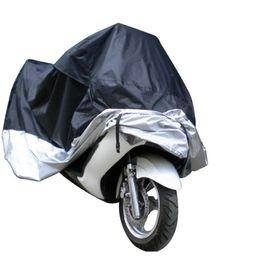 Пылезащитный мопед Скутер Водонепроницаемая крышка для мотоциклов Велосипед Дождь Устойчивость к ультрафиолетовому излучению Защита от пыли Бесплатная доставка