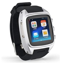 China Wholesale- Smart Watch X01 3.0 Android GPS Dual Core 512 MB 4GB ROM wifi SIM WCDMA Waterproof Pedometer support SIM card camera supplier smart watch dual sim suppliers
