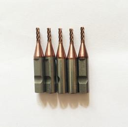 4 dentes de carboneto 2.0 milímetros fresa para máquinas de corte chave V8 / X6 (5pieces / lot) venda por atacado