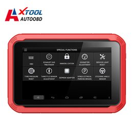 toyota auto key programmer Canada - XTOOL Original X100 Pad Auto Key Programmer Oil Rest Tool & Odometer Adjustment Free Update Online X100pad function as X300 pro
