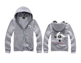 sweat à capuche escrocs achat en gros de-news_sitemap_homeS XL Crooks et Châteaux Sweat Hoodies Casual Sport Homme manches longues Slim Design Le Zipper Sweat Noir Couleur Blanc