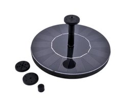 solar powered garden fountains NZ - Mini Solar-power Fountain Brushless Pump Energy-saving Plants Watering Kit with Solar Panel for Bird Bath Garden Pond