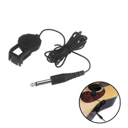 """China Acoustic Classical Guitar Violin  Black Clip-on Pickup with 1 4"""" Jack 2.5M Cable Cherub WCP-60G High Quality Guitar Accessories suppliers"""