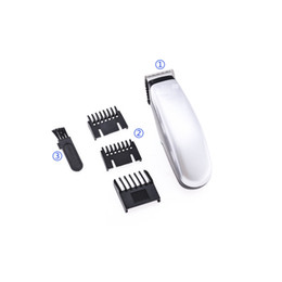 Black Cutters Australia - 100V-240V Professional Electric Hair Trimmer Rechargeable Titanium Ceramic Blade Clipper Men Barber Cutter Hair Cutting Machine