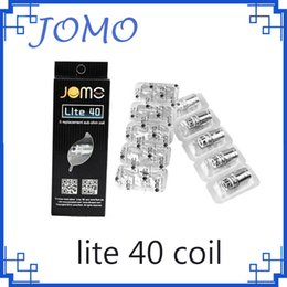 Chinese  JOMO Lite 40 Coils Replacement Jomotech Cigarette atomizer Head Sub Ohm coil 0.5ohm for Lite Tank 40w mod Kit VPEN manufacturers
