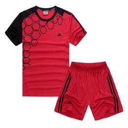 Novas Crianças Trajes De Futebol Futbol Uniforme Execução Camisa de Treinamento Shorts Respirável Tetina Voetbal Crianças 2017 Conjunto de Jersey de Vôlei