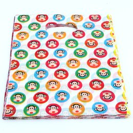 Discount bags monkey Hot sell ! Jewelry Pouches .200pcs 20x25cm Monkey Plastic Bags Jewelry Gift Bag .