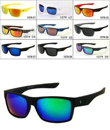 Chinese  MOQ=10PC brand new fashion men' s Bicycle Glass Outdoor Sport TWO FACE sunglasses Google Glasses mix color! manufacturers