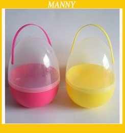 Plastic easter eggs free shipping online plastic easter eggs 5pcs lot big plastic easter egg 1825cm egg capsule for easter gift egg with handle free shipping negle Gallery