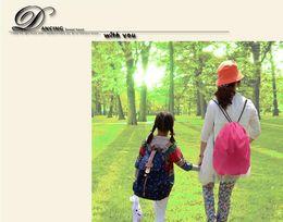 $enCountryForm.capitalKeyWord Canada - 210D polyester bundle pocket Oxford cloth stretch rope pull rope shoulder bag sports bag