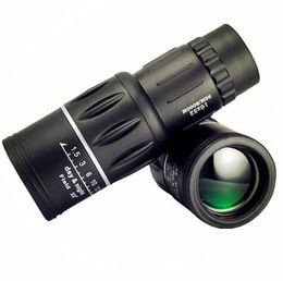 16x52 hd monocular telescopes online shopping - New Travel x52 Monocular HD Telescope Dual Focus Zoom Powerful Monocular Binoculars High times For Bird watching Gifts Best