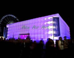 Ingrosso grande tenda gonfiabile del partito utilizzata commerciale all'aperto dell'evento del partito, stazione di evento con luce principale da vendere